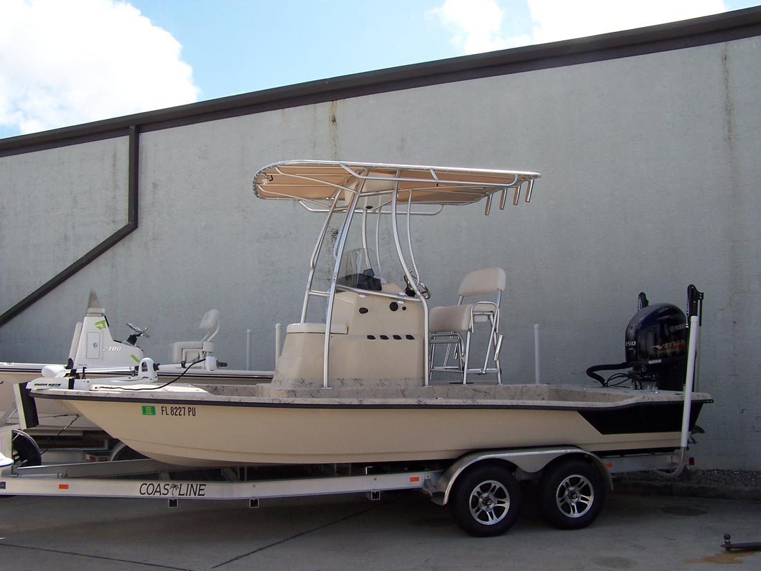 Nautic Star Boats >> Hainey Boats T-Tops for Center Consoles Photo Gallery