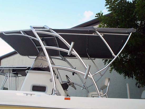 Custom Radar Arches For Your Boat By Cape Coral Welder