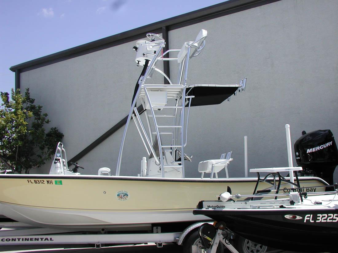 Action craft and coastal bay flats bay boat towers gallery for Action craft coastal bay