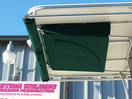 ACTION's Extend-A-Top on a Hard Top (Stowed)