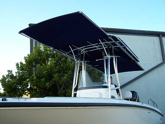 Extend-A-Top Boat Shades by Action Welding of Southwest FL