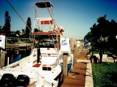Our first Large Tower built dockside in 1994