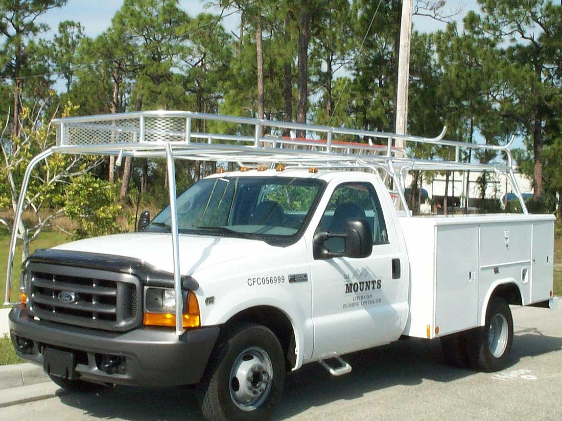 Truck Pipe Rack >> Custom Truck Racks And Van Racks By Action Welding