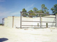 Construction of the Action Welding building back in 1998