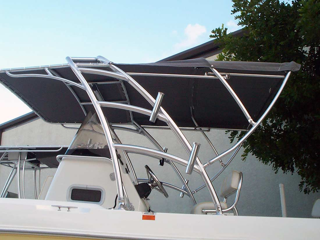 Radar Arch Photo Galleries By Boat Make By Action Welding