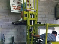 Setting up the new Action Welding in 1998